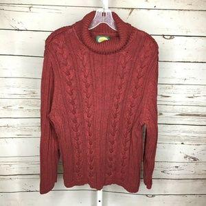 🌸Cabelas Chunky Knit Sweater Size Large